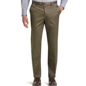 Joseph A Bank Pants Traveler Flat Front 36x33
